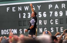 Fenway Park Boston Bruce Springsteen