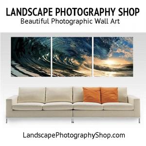 Landscape Photography Shop Banner