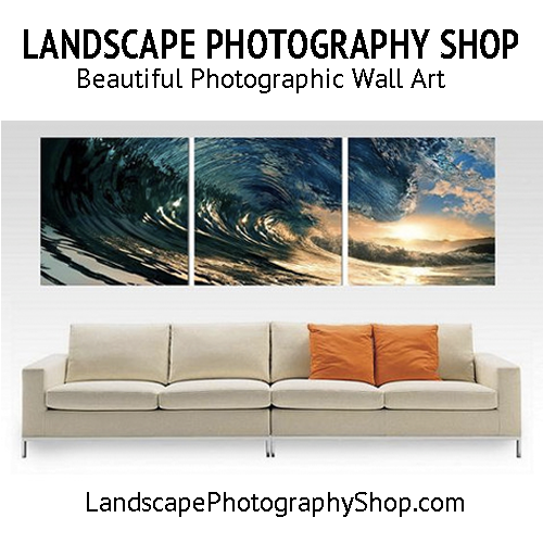 Landscape Photography Shop Banner